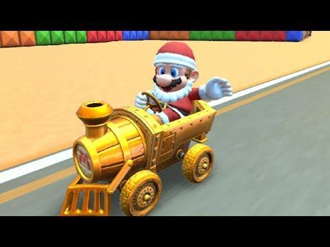 Mario Kart Tour - Santa Mario Unlocked + Winter Tour