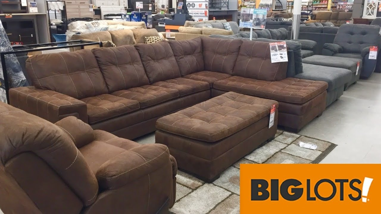 Big Lots Furniture Sofas Armchairs Chairs Home Decor Shop With Me Shopping Store Walk Through Youtube