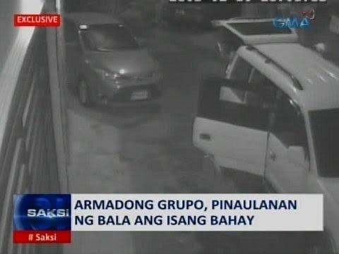Saksi: Walang habas na pamamaril sa Taguig, nakuhanan ng CCTV