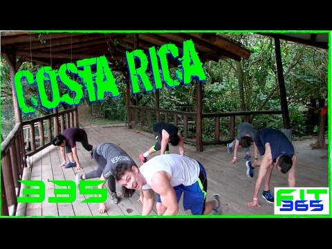 Costa Rican Bodyweight HIIT Workout Deep in The Jungle