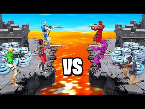 SKY WARS *NEW* Custom Gamemode (Fortnite Battle Royale)