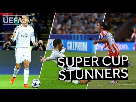 RONALDO, ASENSIO, FALCAO: GREAT UEFA SUPER CUP GOALS!