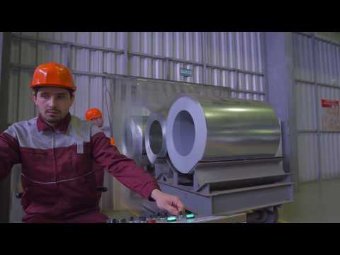 Завод по покраске рулонной стали
