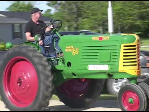 Tractor Drive 2014 Black River Area Antique Power Club part1