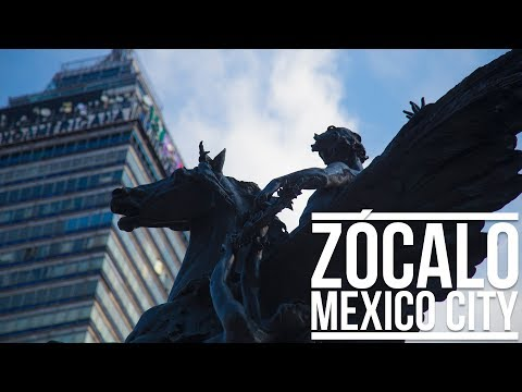ZÓCALO (MEXICO CITY)   Eileen Aldis