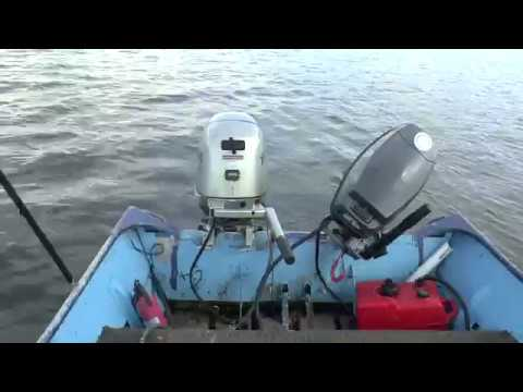 Testing Out Two 25HP Tiller Outboard Motors
