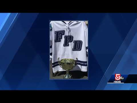 5 For Good: First responders trade uniforms for skates