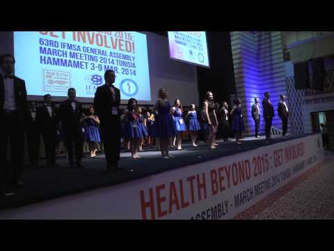 MM2014 Tunisia - The OC Dance (Opening Ceremony)