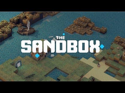 The Sandbox – 3D Blockchain Game Maker – Teaser Video