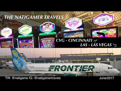 "Frontier Airlines: CVG / Cincinnati - LAS / Las Vegas A320neo ""Sunny the Collared Lizard"" Report"