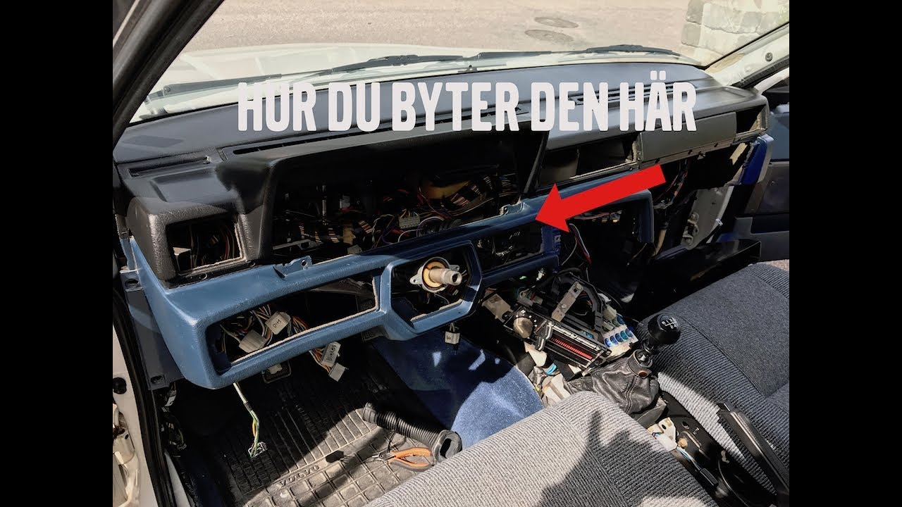 guide s byter du instrumentbr dan i din volvo 740 youtube rh youtube com Volvo 140 Volvo 140