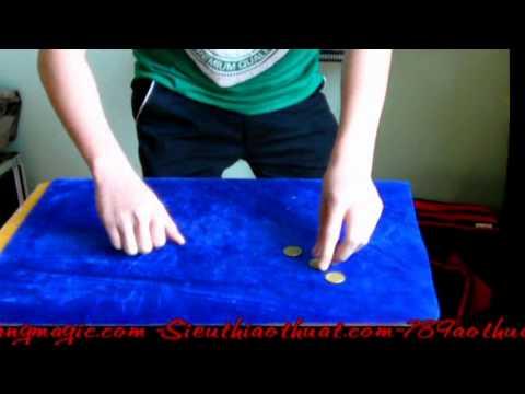 Hướng dẫn ảo thuật đồng xu Tuần 6