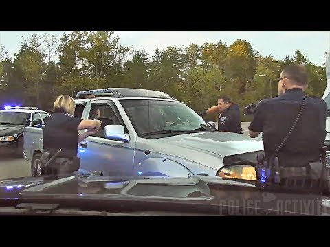Dashcam Shows Officer Shooting Driver After Police Chase in Oak Ridge, Tennessee