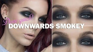 Done Quick- Downwards smokey  - Linda Hallberg makeup tutorials Thumbnail