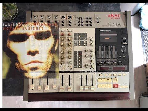 Manchester Music History Akai MG614 Ian Brown Recording of UMB mp3