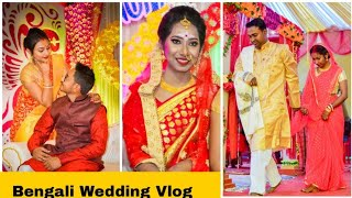 Indian Traditional Bengali Wedding|| Indian Girl Chumki