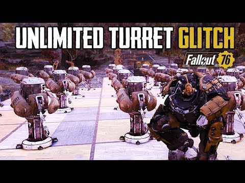 Fallout 76 - NEW UNLIMITED TURRETS IN BASE GLITCH