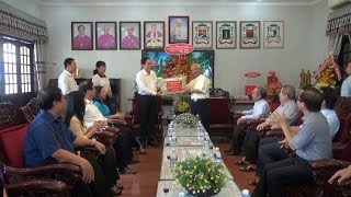 Chủ tịch Ủy ban Trung ương Mặt trận Tổ quốc Việt Nam chúc mừng Giáng sinh tại An Giang