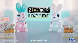 zoomer hungry bunnies tv commercial uk