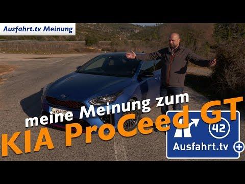 Meine Meinung zum KIA ProCeed GT - Ausfahrt.tv Plus