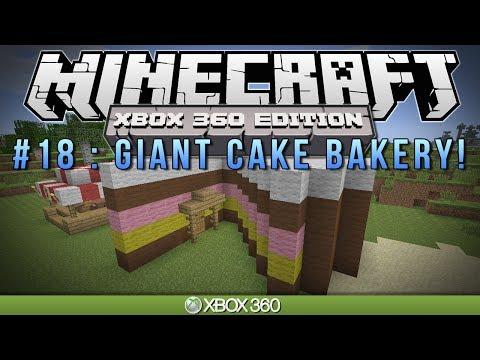 "Minecraft Xbox | ""GIANT CAKE BAKERY"" | Survival #18"