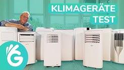 Klimagerät Test – 4 mobile Klimaanlagen im Vergleich