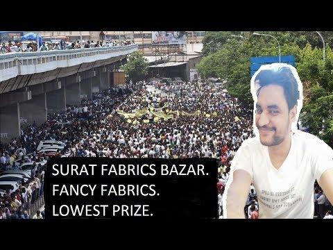 textile market surat | होलसेल कपड़ा मार्केट सूरत | wholesale dress material surat kapda bazar