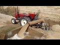 New Holland 640 Model 75 HP Operating on Water Lifting Pump