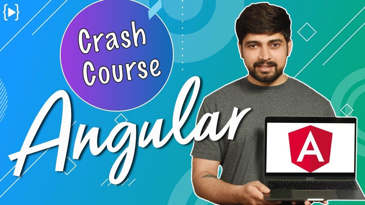 Angular Crash Course for beginners