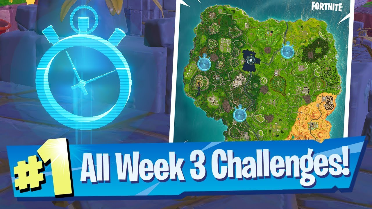 Fortnite Season 6 Week 3 Challenges Guide Timed Trial Locations