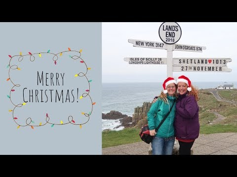 2018 Christmas Vlog - VW T4 Tour of West Cornwall - Penzance YHA - Barbara Hepworth Museum