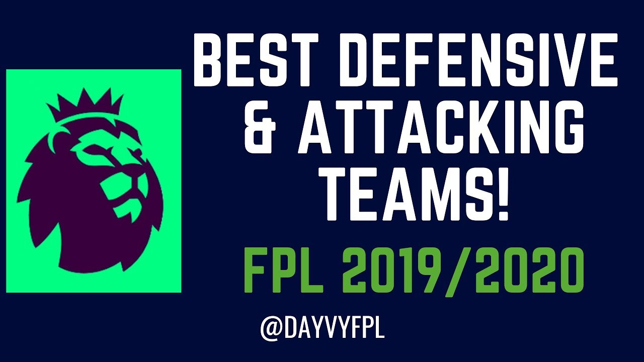 Best Fantasy Football Defenses 2020 TOP 8 BEST ATTACKING AND DEFENSIVE TEAMS! FPL FANTASY PREMIER