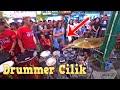 Drummer Cilik 3 Tahun Bikin Heboh Malioboro, Anak Kecil Jago Main Drum Iringi Angklung Carehal Jogja