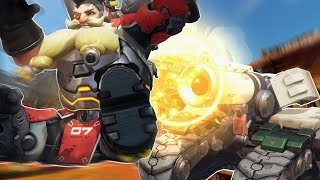 Shooting Torbjorn out of Bastions Cannon
