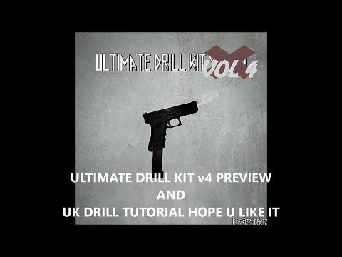 HOW TO MAKE UK DRILL TYPE BEAT+FLP - Ultimate Drill Kit v4 Preview FLP, MIDI, CHOPPED SAMPLES, WAVS