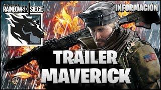 TRAILER AGENTE MAVERICK OPERACION GRIM SKY | Caramelo Rainbow Six Siege Español