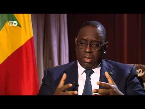 With Macky Sall, President of Senegal   Journal Interview