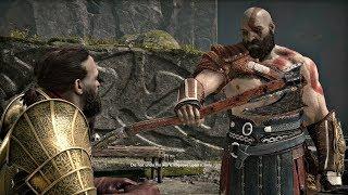 God of War 4 - How Kratos Got Leviathan Axe (God of War 2018) PS4 Pro