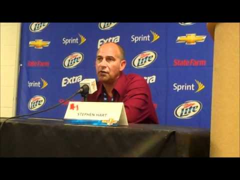 Gold Cup 2011--Canada-Guadeloupe post-game: Stephen Hart