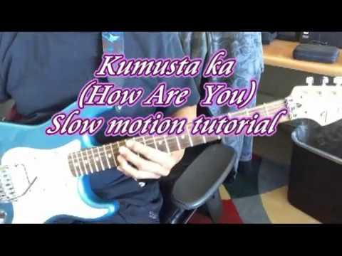 Kumusta ka (How are you?) - Slow motion tutorial - YouTube