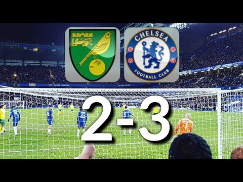 NORWICH vs CHELSEA-EPL (PES GAME Highlits)