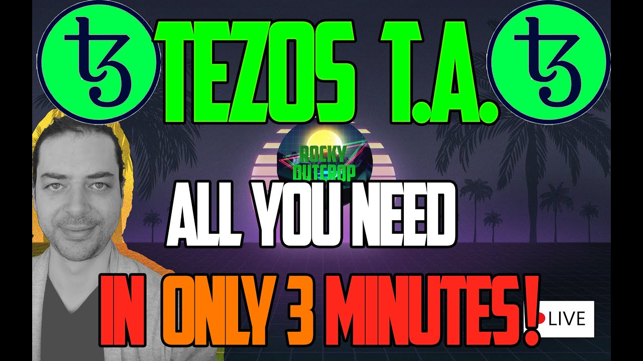 All you need to know about TEZOS in 3 MINUTES FLAT!! May 26 XTZ Technical Analysis 13