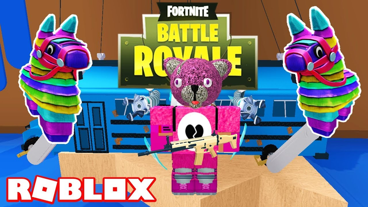 Roblox Fortnite Obby | ROBLOX FORTNITE BATTLE ROYALE
