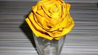 як зробити трояндочки з листя клена