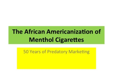 "P-SPAN #420: ""Dangers of Mentholated Tobacco"""