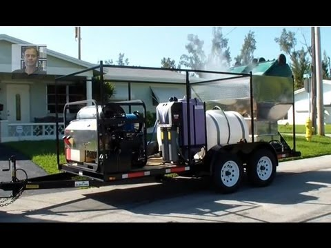 Wheelie Bin Cleaning >> Trash can cleaning business - Wheelie bin cleaner - Bin Cleaner Dan Swede 800-666-1992 - YouTube