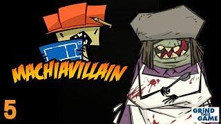 MachiaVillain Gameplay #5 - CHAINSAW Hero Attacks