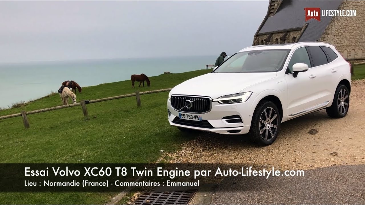 essai volvo xc60 t8 twin engine par auto youtube. Black Bedroom Furniture Sets. Home Design Ideas