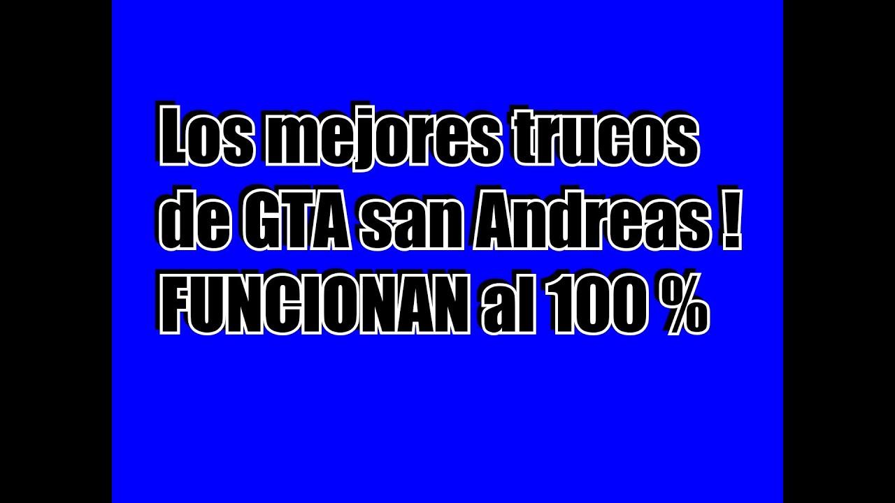 Trucos De Gta San Andreas Xbox 360 YouTube