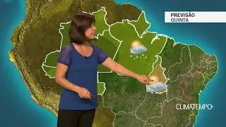 Previsão Norte – Instabilidade enfraquece no TO
